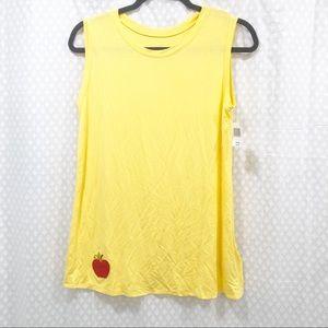 DISNEY PARKS // NWT Yellow Snow White top